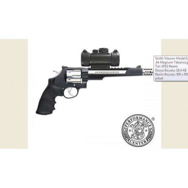 Smith Wesson Model 629 .44 Magnum Hunter Tabanca